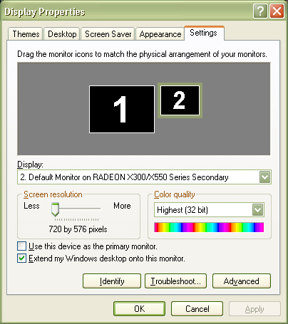 Cara Aktifkan Dual View VGA - MONITOR 2